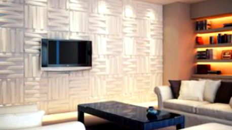 1 m2 designových panelů na stěnu!