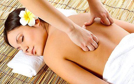 Relaxační masáž zad nebo nohou