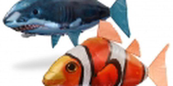 Hit letošních Vánoc AIR SWIMMERS. Dálkově ovládané ryby. Titul Hračka roku 2011