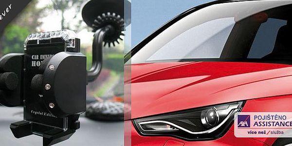 Univerzální držák do auta - HOLDER CRYSTAL EDICE 001 GPS, MP4, MOBIL, PDA, iPHONE, iPOD za super cenu!! Stylový a praktický pomocník na Vašich cestách!!
