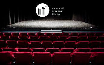 Príďte si vychutnať skvelé výkony známych hercov! Mestské divadlo Žilina vás ku koncu februára a v marci pozýva na 4 divadelné predstavenia - OTHELLO ALEBO ŠKRTIČ BENÁTSKY, SEČ, BOŽSKÁ KOMÉDIA a VYSKOČIŤ Z KOŽE so zľavou až 50%.