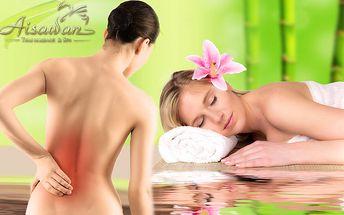 Vychutnajte si masáž sami alebo s vašou polovičkou v luxusnom centre masáží AISAWAN prostredníctvom thajských zdravotných masériek, teraz s 54% zľavou! Na výber 30 minút Thai back special alebo 30 minút reflexná masáž dlaní a chodidiel.