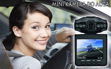 HD Portable - mini kamera do auta s nočným videním! Majte dianie na vozovke počas jazdy pod palcom vďaka mini kamere do auta s nočným videním. Poštovné je v cene.