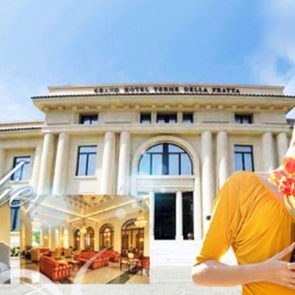6 dní pro dva v Grand Hotelu**** v Itálii! Užijte si pohádkovou dovolenou v italském Bertinoru jen za 8 990 Kč! Pokoj Superior se snídaní, neomezené užívání fitness centra a denně vstup do Wellness ráje ZDARMA!