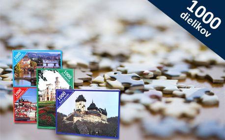 Puzzle s tématikou českých historických pamiatok už od 5 €! Na výber 4 druhy, čím viac puzzle zakúpite, tým vyššia zľava! Skvelý darček pre milovníkov puzzle alebo deti.