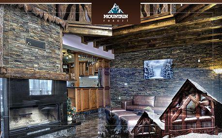 Dovolenka na chate je o pozitívnej energii a nezabudnuteľných zážitkoch. V Mountain Resort s jedinečným dizajnom nájde vaša rodina maximálny luxus a všetko, čo potrebuje.