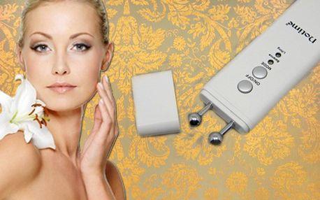 Prístroj NoTime na vyhladenie vrások a omladenie pokožky so zľavou až 70%! Prirodzený liftingový efekt tváre pre hĺbkové spevnenie pleti. Poštovné je v cene!