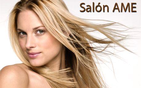 Najhorúcejšia vlasová NOVINKA - Ombre melír + strih alebo farbenie bezamoniakovou farbou L´Oréal Diarichesse/Dialight v salóne AME už od 14,90 €!