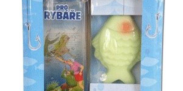 Kosmetická kazeta s originální Urbanovou malbou pro rybáře (Sprchový gel + mýdlo)
