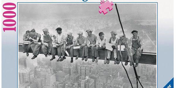 Značkové Puzzle RAVENSBURGER 1000 dílků - Čas oběda, rok 1932