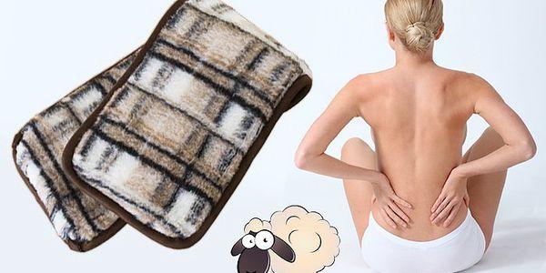 Ledvinový pás z pravé ovčí vlny na prevenci onemocnění ledvin a močových cest.