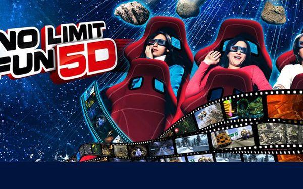 Lístky do 5D kina se slevou 50 %