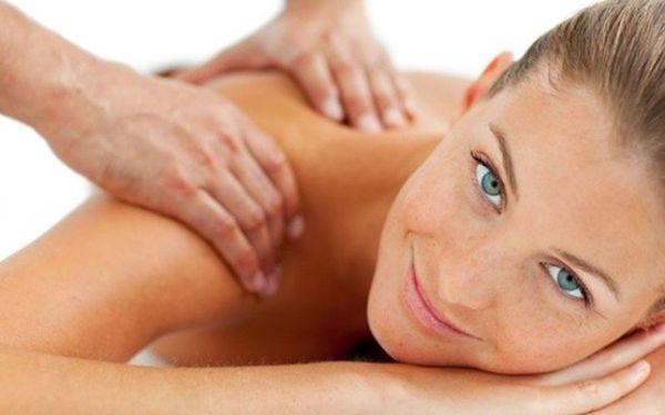 Klasická masáž o dílce 60 min. za 190 Kč