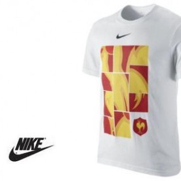 Pánské triko Nike v bílé barvě - velikost XL