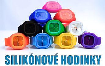 UNISEX silikónové hodinky, originálny a nápaditý doplnok pre každú príležitosť! Zdravotne nezávadné, antialergénne a vyrobené z odolného silikónu pre pohodlné nosenie.
