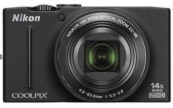 Rychlý, výkonný a precizní kompaktní fotoaparát Nikon Coolpix S8200. Kvalita z Alza.cz.