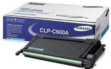 Spolehlivá tisková kazeta s modrým tonerem SAMSUNG cyan pro CLP-600/N 4000 stran