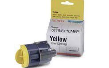 XEROX 106R01204. Toner se žlutou náplní a s kapacitou až 1 000 stránek.