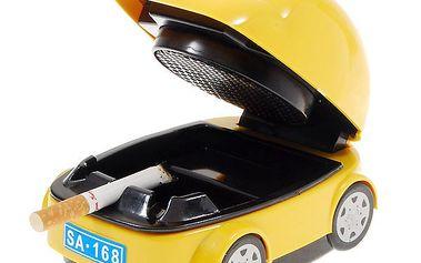 Popelník ve tvaru auta s pohlcovačem dýmu a poštovné ZDARMA! - 52
