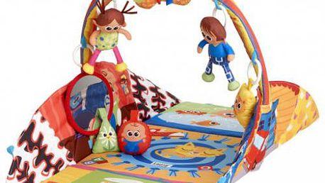 Lamaze Hrací podložka - pyramida. Roste s Vaším dítětem!