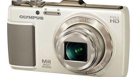 Nový fotoaparát Olympus SH- 25MR. Rozlišení 16 megapixelů a 12,5 optický zoom.