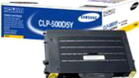 Alternativní žlutý toner Alza pro Samsung CLP-500D5Y žlutý. Top cena/výkon!