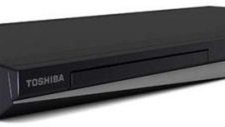 TOSHIBA BD-X4350KE. Nejvyšší model z nejnovější řady Blu-ray přehrávačů.