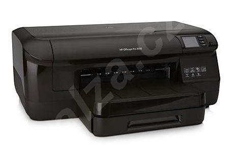 Inkoustová tiskárna HP Officejet Pro 8100. 1200x600dpi, LCD, 128MB, duplex, USB+LAN+WiFi