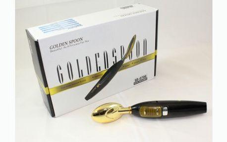 Zatočte s vráskami efektivně z pohodlí domova! Galvanická žehlička Golden Spoon pro omlazení pleti za fantastických 1 489 Kč! Nejlevněji v ČR!!