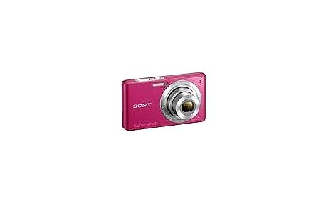 Lehký a kompaktní fotoaparát Sony CyberShot DSC-W610P růžový