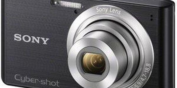 Lehký a kompaktní fotoaparát SONY Cyber-Shot DSC W610B. Kvalita z Alza.cz.