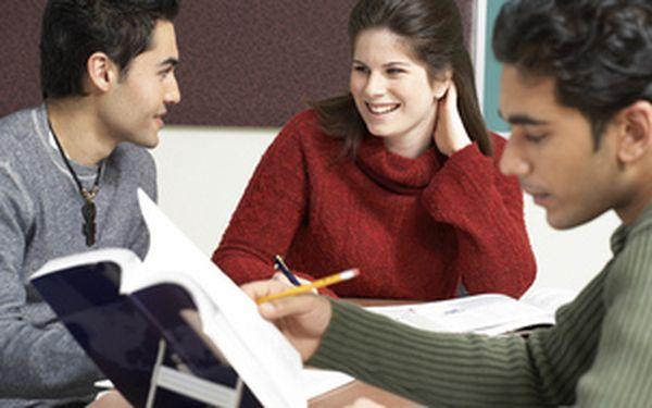 Nebojte se mluvit anglicky v práci! Konverzační kurz ve skupinách 4-6 studentů