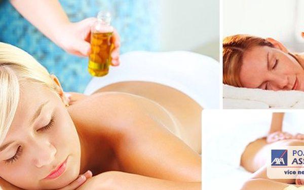 Masáž zad.Odpoutejte se od všedních strarostí a dopřejte si relaxaci a úlevu od bolesti. Olejová - aromaterapeutická+ 2 masáže ZDARMA