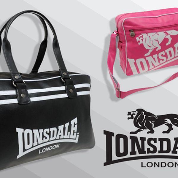 Potrebujete praktickú tašku? V ponuke športová dámska taška Lonsdale, alebo elegantná dámska taška cez rameno pre každodenné nosenie už od 15,50€.
