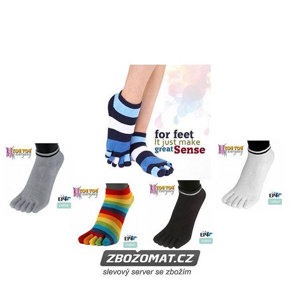 Nuda v Brně? ANKLE prstové kotníkové ponožky ToeToe Vás nudit rozhodně nebudou!
