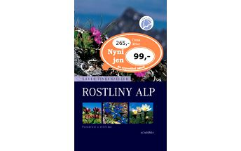 Rostliny Alp. Poznávání a určování. Druhý fotografický atlas z edice Campanula