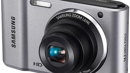 """Kompaktní digitální fotoaparát Samsung ES90 s rozlišením 14,2 MPx, 5x optickým zoomem a 2,7"""" LCD"""