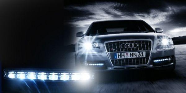 Exteriérové osvětlení Vašeho plechového miláčka za báječnou cenu 279 Kč! DRL LED Diodová světla pro denní svícení oživí Váš vůz a dodají mu sportovní look!