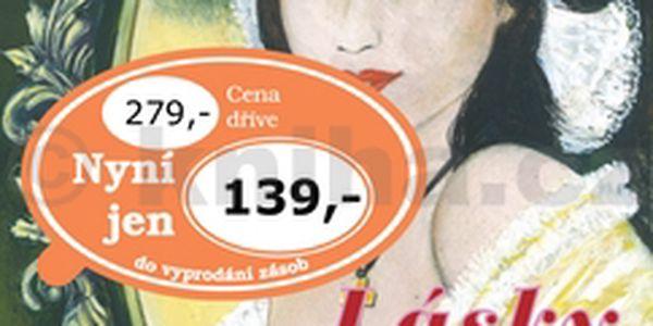 Lásky Žofie Bosniakové. Příběh zaujme všechny čtenáře, kteří mají rádi historickou literaturu.