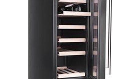 Vinotéka PHILCO PW 19 BI s kompresorovým chladicím systémem a cirkulací vzduchu