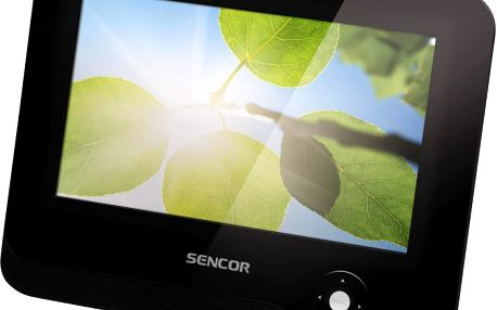 LCD monitor s úhlopříčkou 18 cm SENCOR SPV 5703. Skvělý do auta!