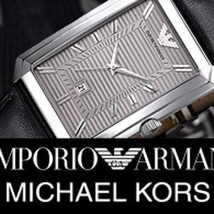 Luxusní pánské hodinky Michael Kors a Emporio Armani