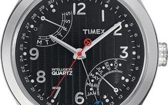 Stylové pánské hodinky TIMEX T2N505 z kolekce Intelligent Quartz