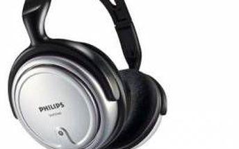 HiFi sluchátka Philips SHP2500. Pro sledování televize a poslech z domácích hudebních systémů.