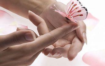 Kompletní péče o ruce a nehty s manikúrou, P-shine...