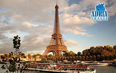 4 alebo 5-dňový zájazd do PARÍŽA s kvalitným hotelovým ubytovaním s raňajkami, dopravou, sprievodcom! Zažite najznámejšie parížske pamiatky a miesta v najkrajšom ročnom období!