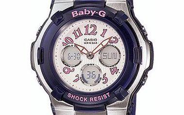 Stylově zpracované dámské náramkové hodinky Casio BGA 114-2B