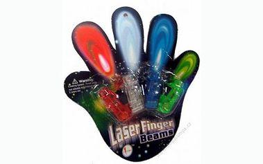LED FINGER LASER – svítící prsty za pouhých 45 Kč! Buď in na každé párty nyní se slevou 77 %!