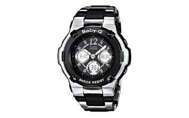 Stylové dámské náramkové hodinky Casio BABY-G BGA 112C-1B