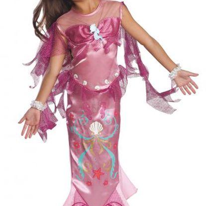 Alltoys Kostým Mořská víla růžový. Pohádkový motiv krásné mořské panny